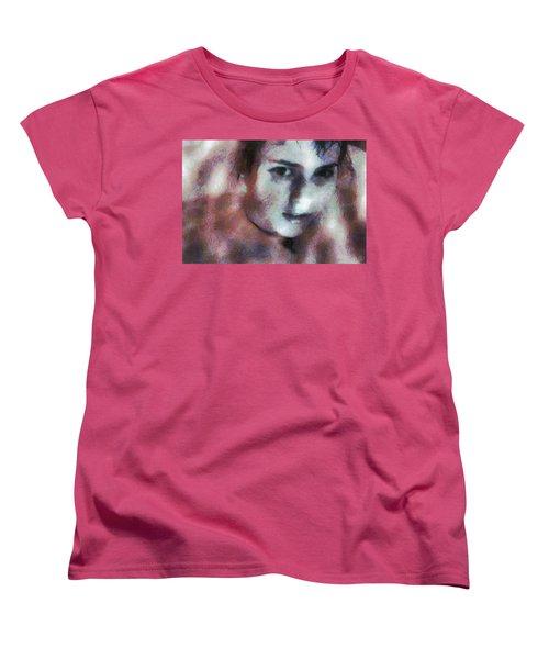 Women's T-Shirt (Standard Cut) featuring the digital art Full Of Expectation by Gun Legler