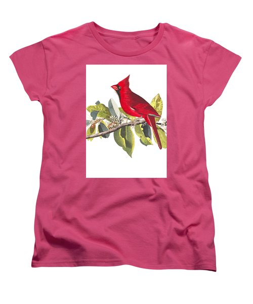 Women's T-Shirt (Standard Cut) featuring the photograph Full Red by Munir Alawi
