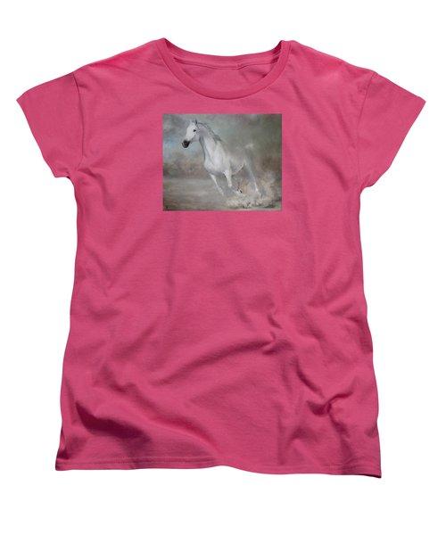 Gallop Women's T-Shirt (Standard Cut) by Vali Irina Ciobanu