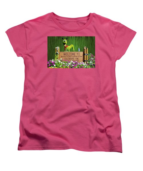 Garden Festival Mp Women's T-Shirt (Standard Cut) by Thomas Woolworth