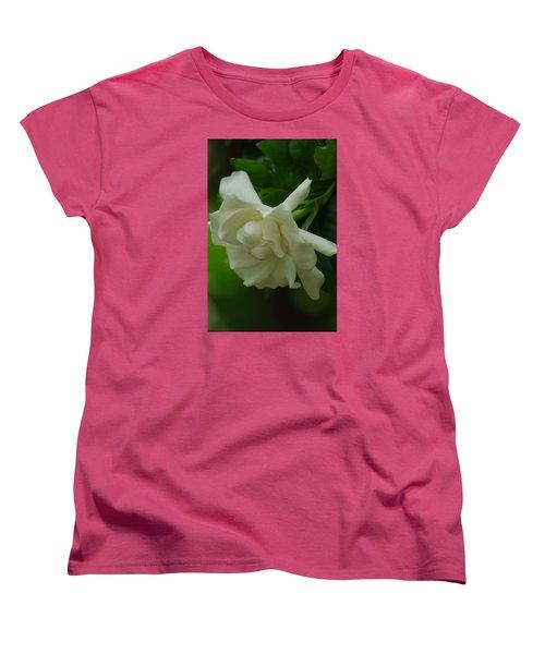 Women's T-Shirt (Standard Cut) featuring the photograph Gardenia by Ramona Whiteaker