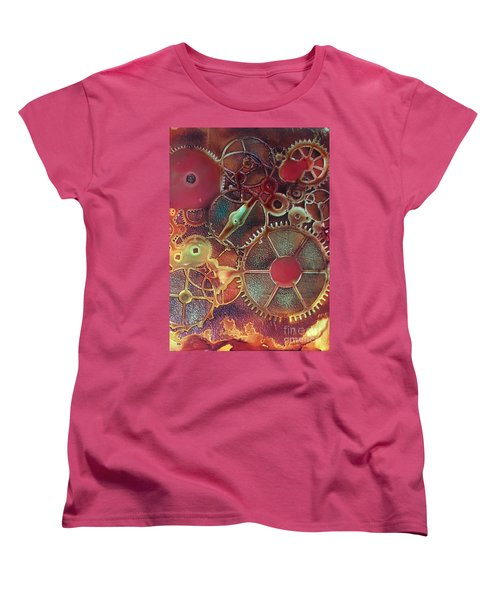 Gear Works Women's T-Shirt (Standard Cut) by Suzanne Canner
