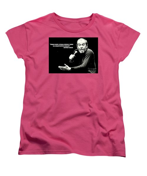 George Carlin Art  Women's T-Shirt (Standard Cut)