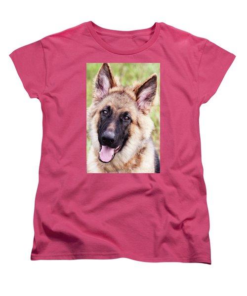 German Shepherd Dog Women's T-Shirt (Standard Cut)