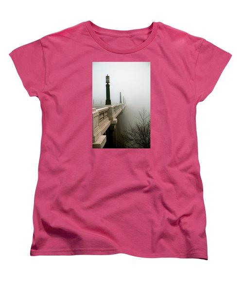 Gervais Street Bridge Women's T-Shirt (Standard Cut) by Skip Willits