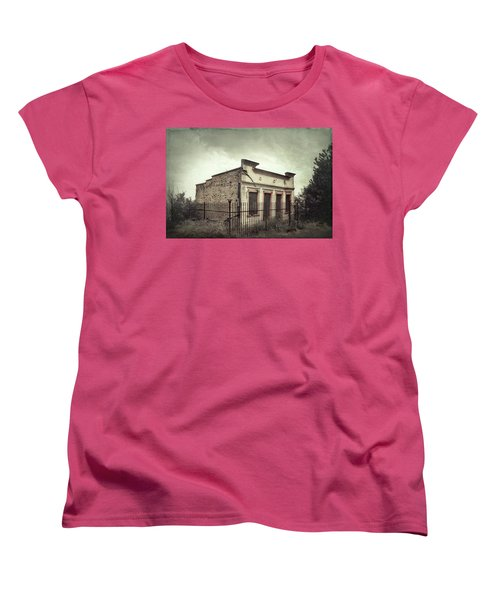 Ghost Cottage Women's T-Shirt (Standard Cut) by Robert FERD Frank