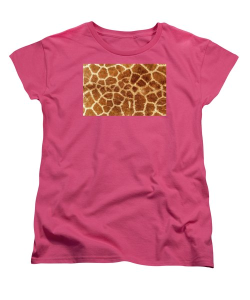 Giraffe Skin Close Up 2 Women's T-Shirt (Standard Fit)