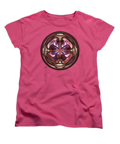 Glass Button 2 Women's T-Shirt (Standard Cut) by John M Bailey