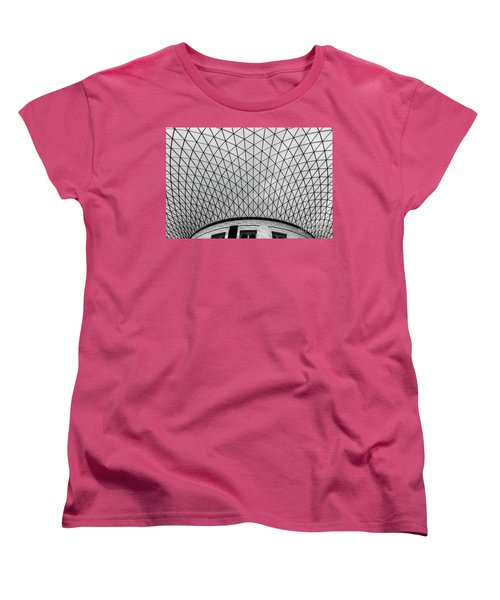 Women's T-Shirt (Standard Cut) featuring the photograph Glass Ceiling by MGL Meiklejohn Graphics Licensing