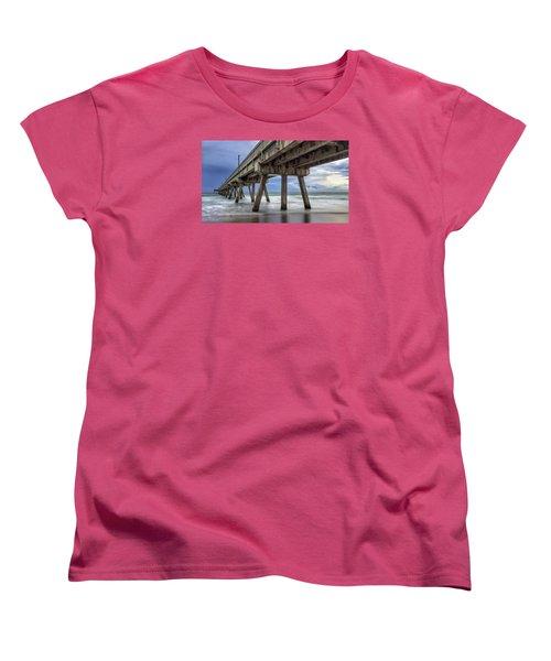 Gloomy Pier Women's T-Shirt (Standard Cut)