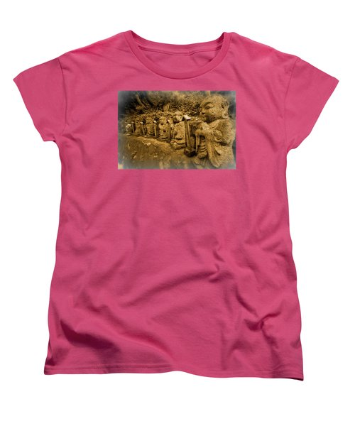 Women's T-Shirt (Standard Cut) featuring the photograph Gods Of Japan by Daniel Hagerman