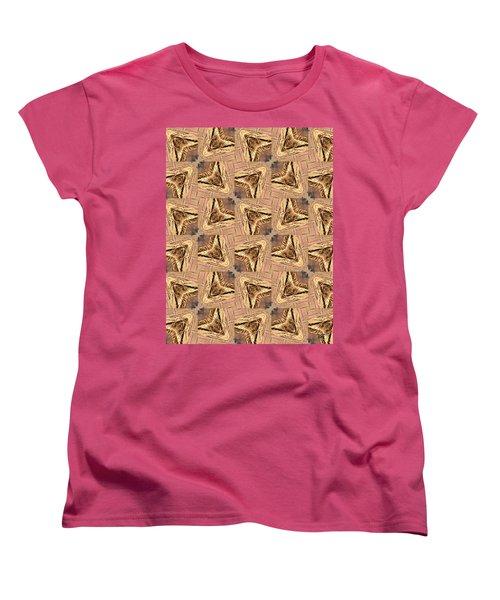 Golden Arrowheads Women's T-Shirt (Standard Cut) by Maria Watt
