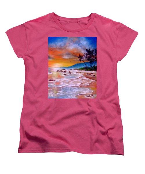 Golden Dawn Women's T-Shirt (Standard Cut) by Patrice Torrillo
