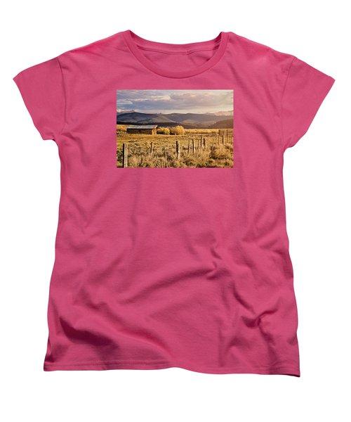Golden Lonesome Women's T-Shirt (Standard Cut)
