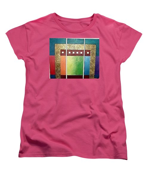 Golden Mesa Women's T-Shirt (Standard Cut) by Bernard Goodman