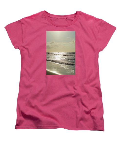 Golden Morning At Folly Women's T-Shirt (Standard Cut) by Jennifer White