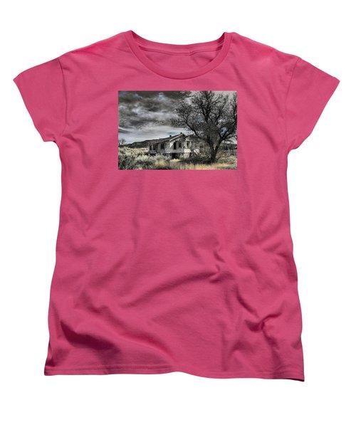 Golden New Mexico Women's T-Shirt (Standard Cut) by Robert FERD Frank