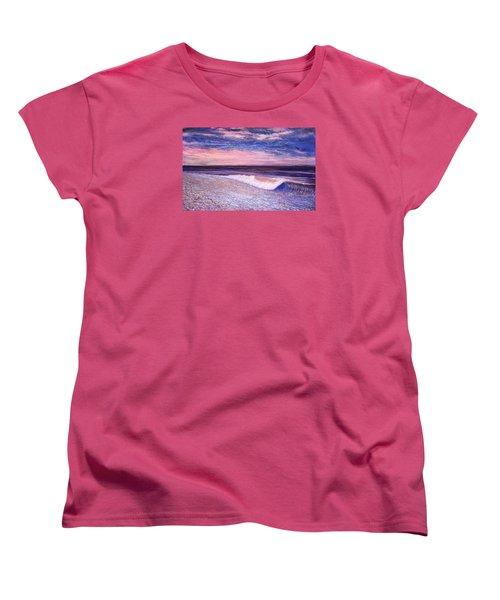 Golden Sea Women's T-Shirt (Standard Cut) by Jeanette Jarmon