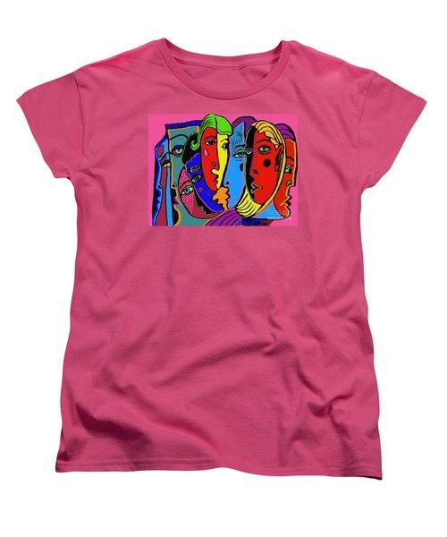 Gossip Women's T-Shirt (Standard Cut) by Hans Magden