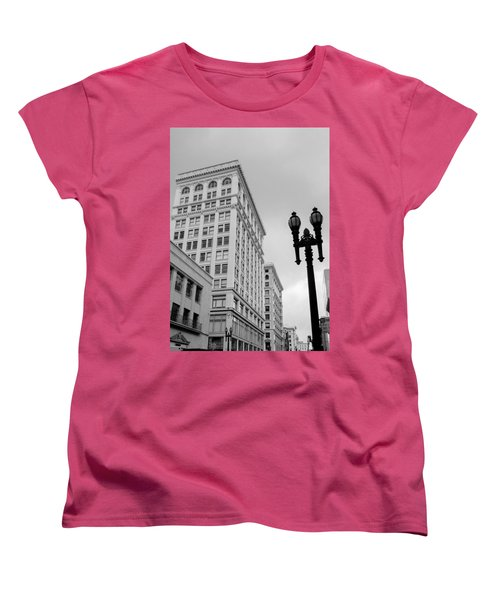 Grant Avenue Women's T-Shirt (Standard Cut) by Mark Barclay
