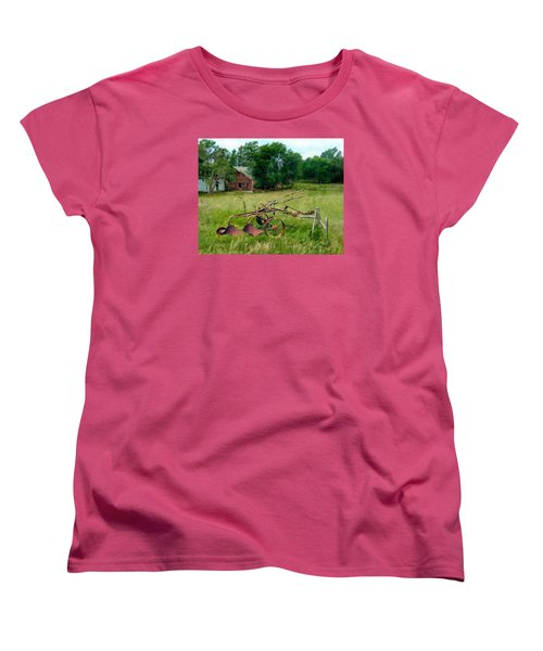 Great Grandpa's Plow Women's T-Shirt (Standard Cut) by Ric Darrell