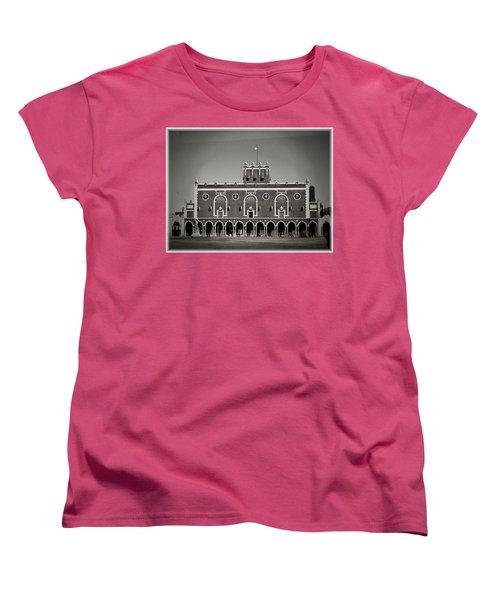 Greetings From Asbury Park Women's T-Shirt (Standard Cut) by Allen Beilschmidt