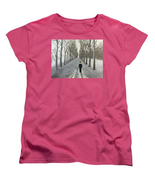 Grey Day Women's T-Shirt (Standard Cut) by Thomas Blood