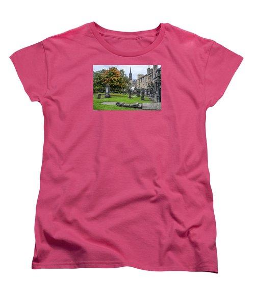 Greyfriars Kirkyard 1562  Women's T-Shirt (Standard Cut) by Amy Fearn