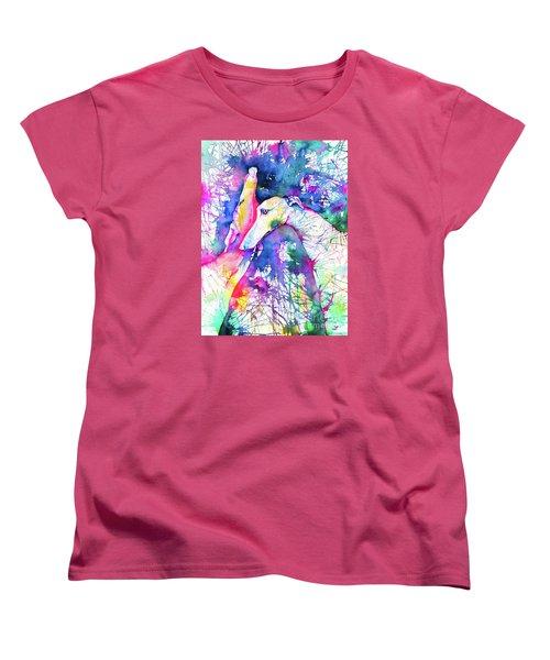Greyhound Trance Women's T-Shirt (Standard Cut) by Zaira Dzhaubaeva