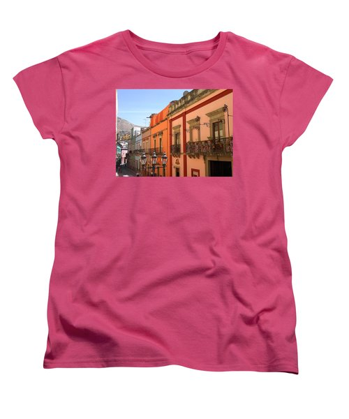 Women's T-Shirt (Standard Cut) featuring the photograph Guanajuato by Mary-Lee Sanders