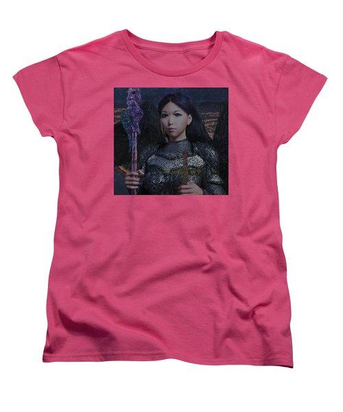Guardian10 Women's T-Shirt (Standard Cut) by Suzanne Silvir