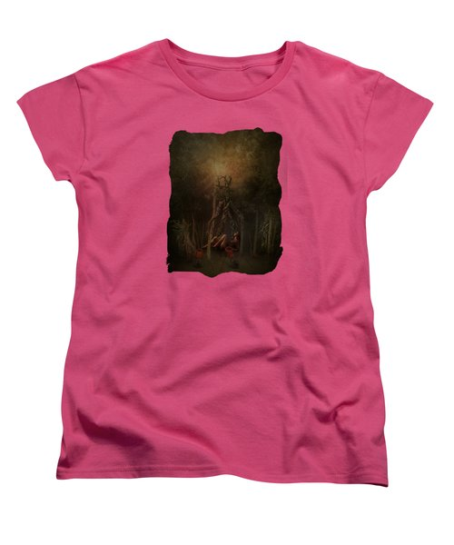 Guardians Of The Forest Women's T-Shirt (Standard Cut) by Terry Fleckney