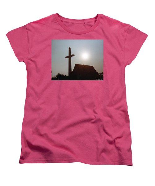 Women's T-Shirt (Standard Cut) featuring the photograph Guiding Light by Betty Northcutt