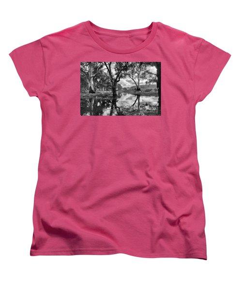 Women's T-Shirt (Standard Cut) featuring the photograph Gum Creek by Douglas Barnard