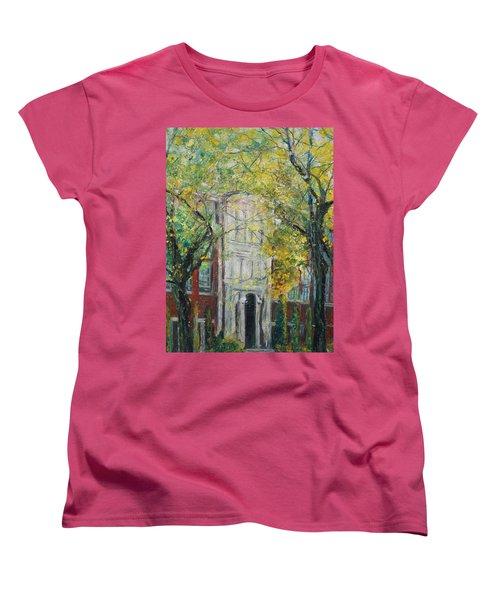 Hail Ole Malvern High School Women's T-Shirt (Standard Cut) by Robin Miller-Bookhout