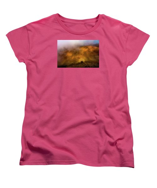 Women's T-Shirt (Standard Cut) featuring the photograph Haleakala Halo by M G Whittingham