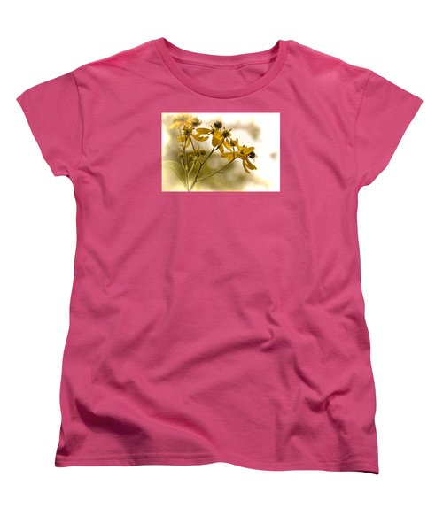 Women's T-Shirt (Standard Cut) featuring the photograph Hard At Work by Dennis Lundell