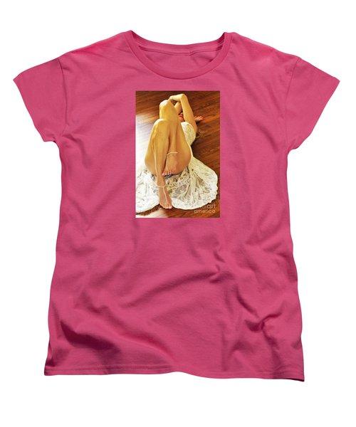 Hardwood Women's T-Shirt (Standard Cut) by Marat Essex