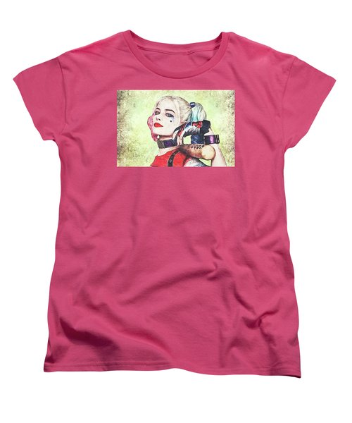 Harley Is A Crazy Woman Women's T-Shirt (Standard Cut) by Anton Kalinichev