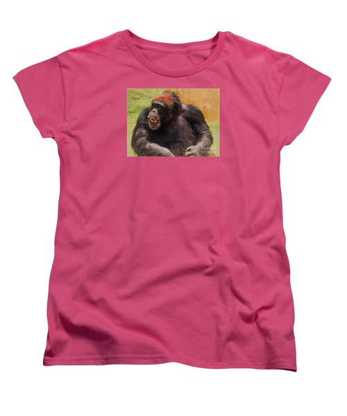 Women's T-Shirt (Standard Cut) featuring the painting Harry by Judy Kay