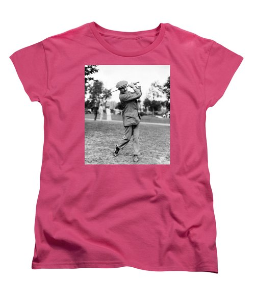 Harry Vardon - Golfer Women's T-Shirt (Standard Cut) by International  Images