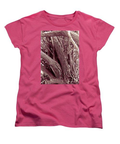 Hau Trees Women's T-Shirt (Standard Cut) by Mukta Gupta