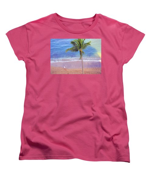 Hawaiian Morning Women's T-Shirt (Standard Cut) by Kathy Bassett