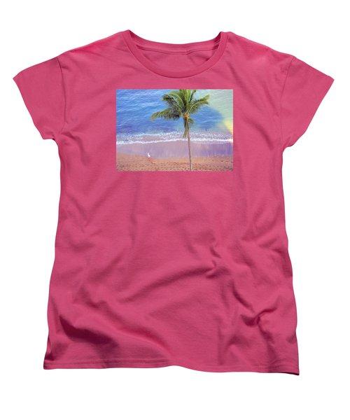 Hawaiian Morning Women's T-Shirt (Standard Cut)