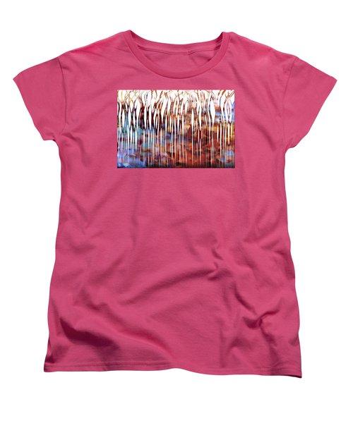 He Is Your Praise. Deuteronomy 10 21 Christian Art Women's T-Shirt (Standard Cut) by Mark Lawrence