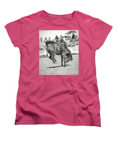 Head Down Women's T-Shirt (Standard Cut) by Steven Parker