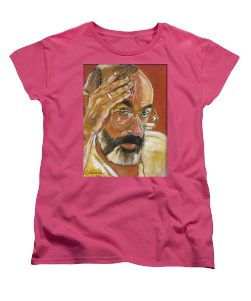 Women's T-Shirt (Standard Cut) featuring the painting Headshot by Gary Coleman