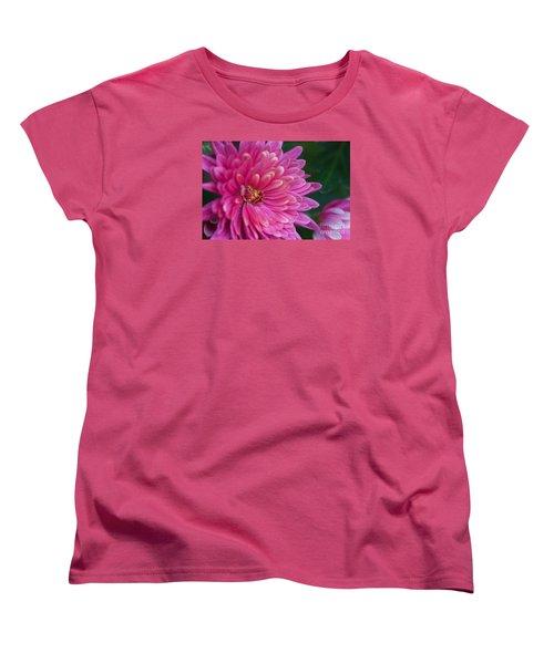 Heart Of A Mum Women's T-Shirt (Standard Cut) by Jim Gillen