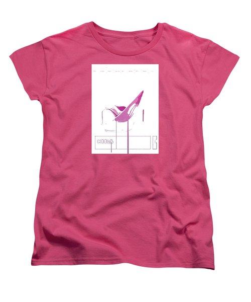 Heels Women's T-Shirt (Standard Cut)
