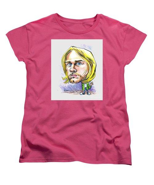 Hello Kurt Women's T-Shirt (Standard Cut) by John Ashton Golden